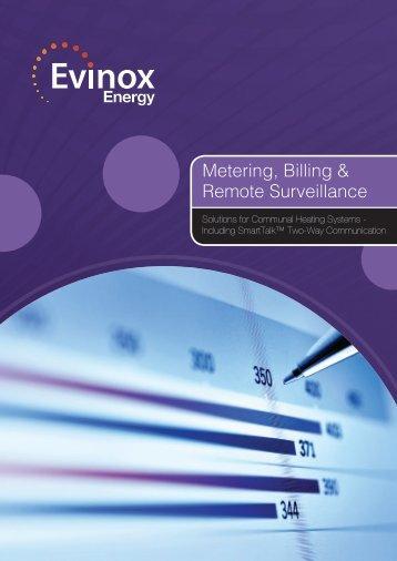 Metering, Billing & Remote Surveillance Brochure - Evinox