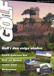 Golf i den eviga staden - Golfbladet