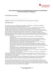 Einverständniserklärung für Darsteller / Mitwirkende im Rahmen von ...