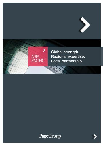 Asia Pacific Brochure - Michael Page