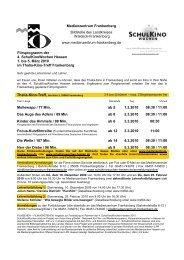 2010 Filmprogramm - Medienzentrum Frankenberg