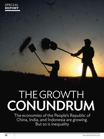 The Growth Conundrum - Development Asia