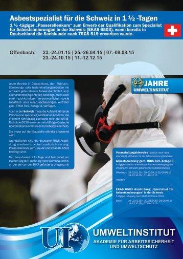 Offenbach: 12.-13.09.13 | 07.-08.11.13 - Umweltinstitut Offenbach
