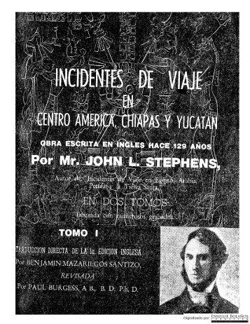 Revista Conservadora - Incidentes de viaje en Centroamérica ...