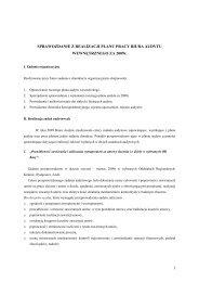 Sprawozdanie z realizacji planu audytu wewnętrznego w ... - KRUS