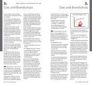 Glas und Brandschutz Glas und Brandschutz - GLASSOLUTIONS