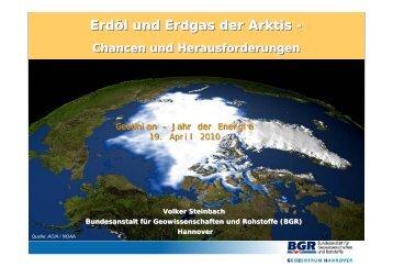 Erdöl und Erdgas der Arktis