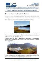 Cerkniško jezero - Gimnazija Ledina