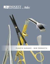 Plastic Surgery New Products Brochure - Integra Miltex