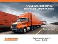 Intermodal Sales Presentation - Logistics Provider Directory