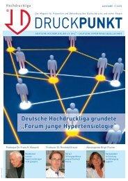 Forum junge Hypertensiologie - Deutsche Hochdruckliga