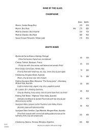 Master Wine list 2010-02-22