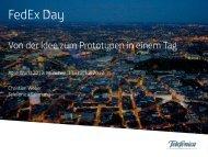 FedEx Day - Agile World 2013