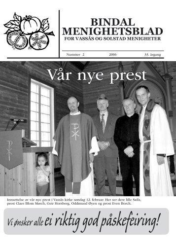 Menighetsbladet 2-2006 - Bindal kommune
