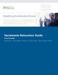 Sacramento Relocation Guide - Antevia