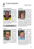 10 Jahre Vereinsheft … - Musikverein Sissach - Page 2