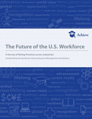 The Future of the U.S. Workforce - Achieve