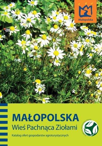 Pobierz katalog ofert gospodarstw agroturystycznych - Małopolska ...