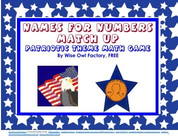 Free Flag Day Math Games PDF 27 Pages