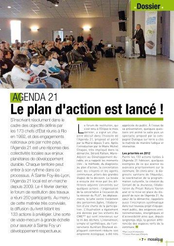 Agenda 21 - Sainte Foy-Lès-Lyon
