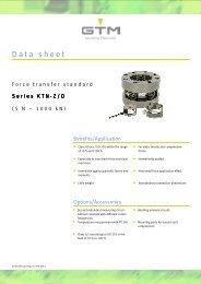 Data sheet Serie KTN-ZD - GTM GmbH