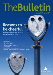 What Investment Trust - Aberdeen Asset Management