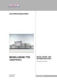 FTN PROFI (D) - start Serial No. 8655 0876 - HOBART GmbH