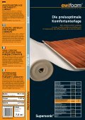 10,0 m2 - ewifoam-Schaumstoffe & Co,Trittschalldämmung ... - Page 2