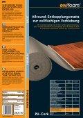 10,0 m2 - ewifoam-Schaumstoffe & Co,Trittschalldämmung ... - Page 6