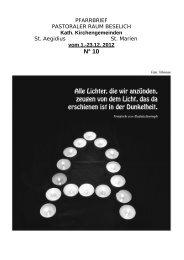 PFARRBRIEF - Pastoraler-raum-beselich.de