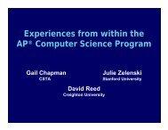 Download presentation as PDF - CSTA
