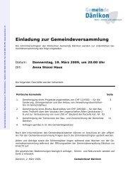 Weisung zur Gemeindeversammlung [PDF, 354 KB]