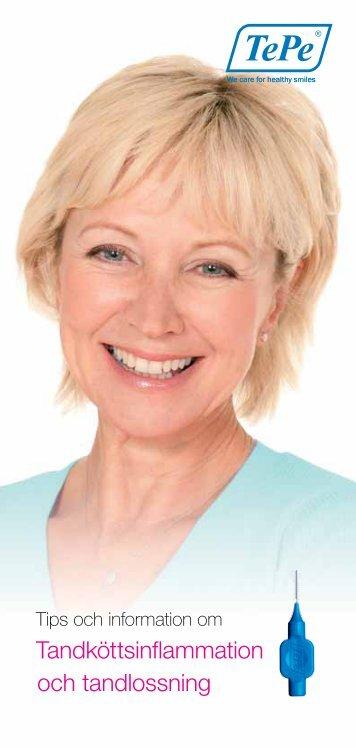Tandköttsinflammation och tandlossning - TePe