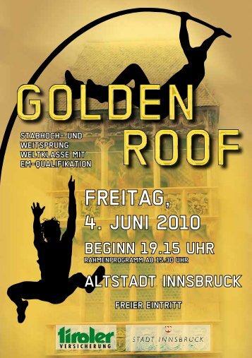 broschüre 2010 - Golden Roof Challenge