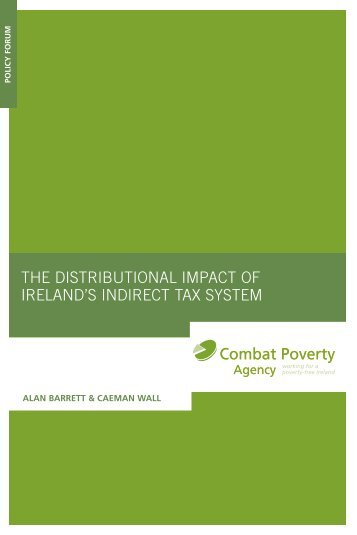 The Distributional Impact of Ireland's Indirect Tax System (2006)