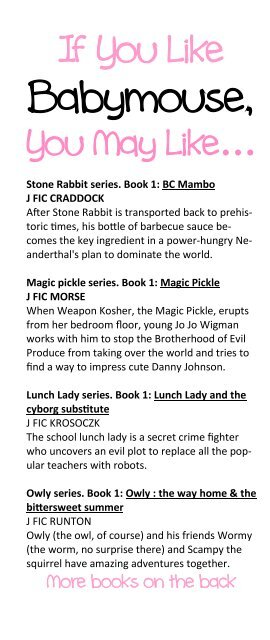 photograph regarding Who Was Book Series Printable List identify Printable e-book checklist - Moore Memorial General public Library