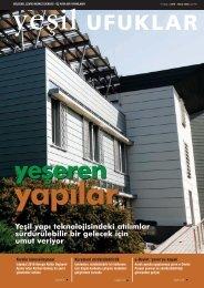 Yeşil yapı teknolojisindeki atılımlar sürdürülebilir bir ... - REC Türkiye