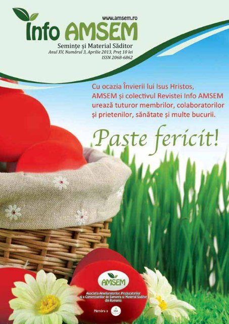 Revista Info-AMSEM Nr. 3 / 2013
