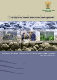 guidelines for water conservation and water demand ... - iwrm