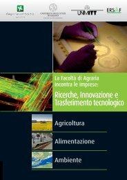 Ricerche, Innovazione e Trasferimento tecnologico - Dote Regione ...