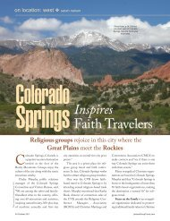 Inspires Faith Travelers - Leisure Group Travel