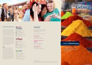 und Werbemöglichkeiten 2013/2014 Gebeco Medienmenü