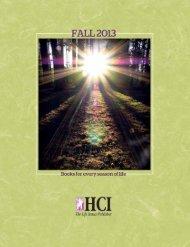 View HCI's Fall 2013 Catalog - HCI Books