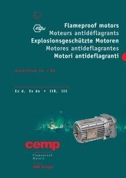 Atav-Flameproof Motors - CEMP