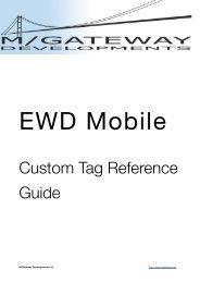 EWD Mobile API Reference (Build 860) - M/Gateway Developments ...