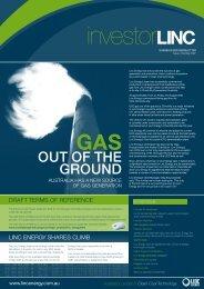 Spring 2007 - Linc Energy
