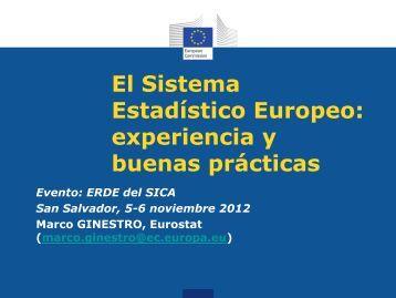 El Sistema Estadístico Europeo - Paris21