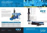 Injection System USV - LWB Steinl GmbH & Co. KG