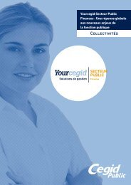 Yourcegid Secteur Public Finances Collectivités - Cegid.fr