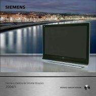 Siemens Elektronik Ürünler Broflürü
